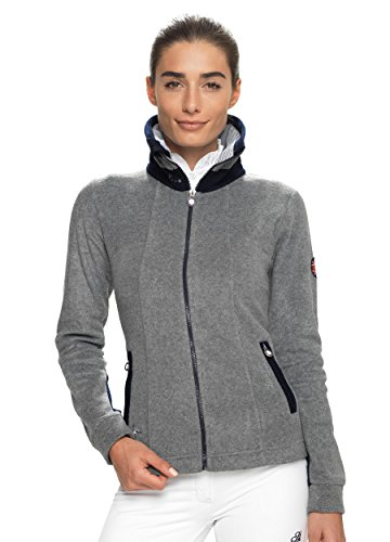 SPOOKS Fleecejacke Lexi Fleece Grey/Navy Größe XL
