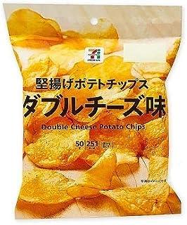 【販路限定品】カルビー 堅揚げポテトチップス ダブルチーズ味 50g×12袋