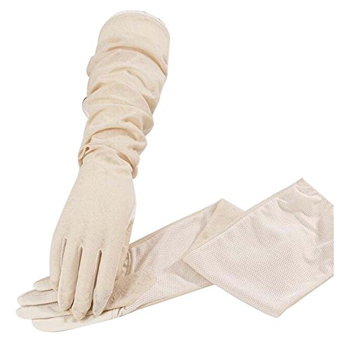 Gants pour Femmes, Manches glacées, Gants Anti-UV et antidérapants, écran Tactile, F1