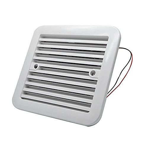 Ventilador extractor de refrigeración de 12 V para autocaravanas, color blanco