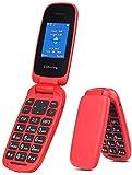 Ushining 3G Unlocked Flip Phone Large Icon Large Volume Flip Phone Unlocked Canada