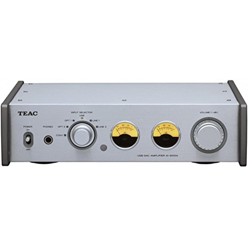 Find Bargain Teac AI-501DA-S Integrated Amplifier with 192kHz USB Audio Input (Silver)