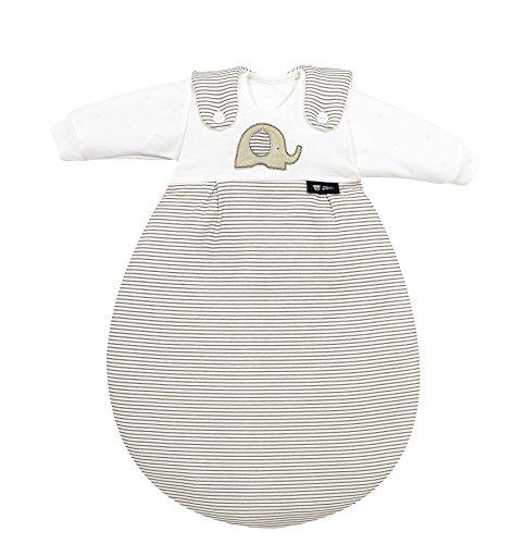 """Alvi 445233236 Baby Mäxchen, 3 - teilig, Super Soft """"Elefant"""", beige, 50/56"""