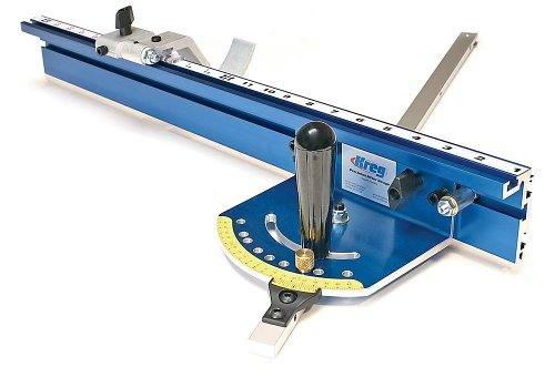 KREG KMS7102 Table Saw Precision Miter Gauge System, Blue