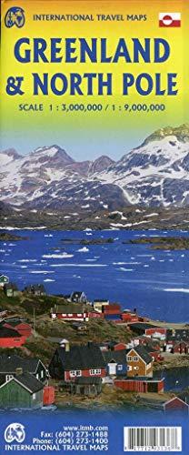 Greenland & North Pole/ Grönland & Nordpol 1 : 1 3000 000 / 9000 000