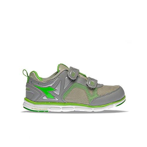 Diadora Nj-404Jr V Zapato de Running Suave–Unisex niño Size: 33.5 EU (1.5 UK) - JR
