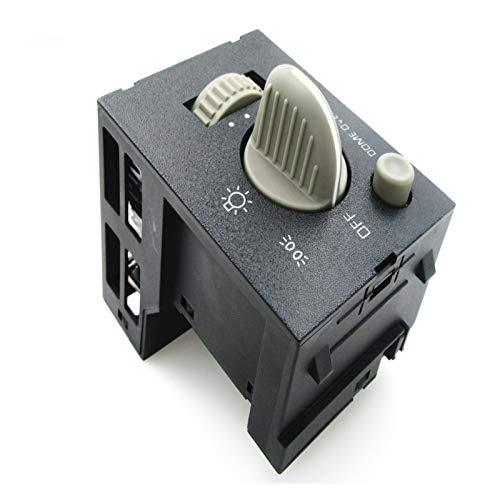 ZHIXIANG Interruptor de Dimmer de Light Light 93443101 Ajuste Adecuado para C-Hevrolet Tahoe Suburban Silverado Sierra 1995-2000