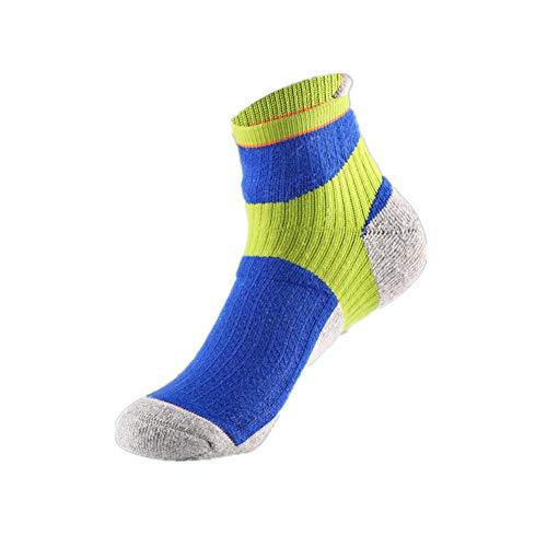 WPCASE calze antiscivolo uomo calzini sportivi calzini alla caviglia mens calze da uomo calzini da ciclismo uomo calzini da uomo calzini da uomo blue,m