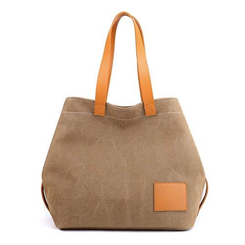 Women's Handbag Shopper Tote Bag, Women Fashion Large Capacity Shoulder Bag Top Handle Satchel Lady Canvas Handbag Shopping Bag Daily Purse for Travel Casual Work Summer Beach Trendy Bag for Shopping