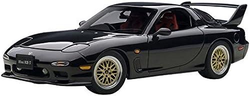 AUTOart 75968 Mazda rx-7 Tuned Version 2002 Ma ab 1 18 Schwarz