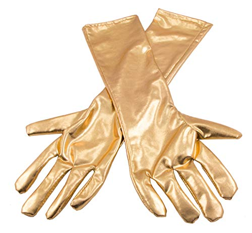Metallic Coloured Gloves
