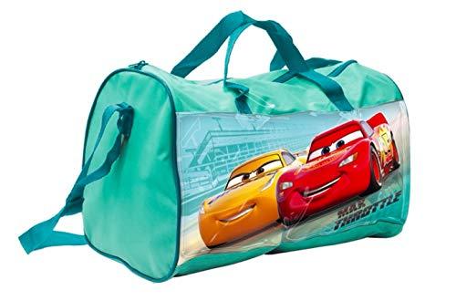 Disney Cars Auto Reisetasche Tasche Sporttasche Schultasche mit Sticker-von-Kids4shop