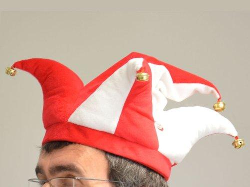 Tanzender Hut Karneval Rot / weiß