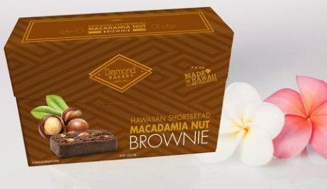 Hawaiian Shortbread Macadamia Nut Cookies, Brownie 4 ounce (113g)