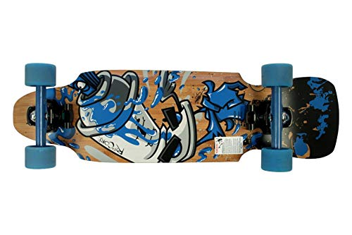 Hepros Ripcore Complete Longboard Kicktail Dope Riot 31.5 x 8.63