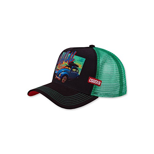Coastal Trucker Cap Sun Down Brown / Green - One-Size