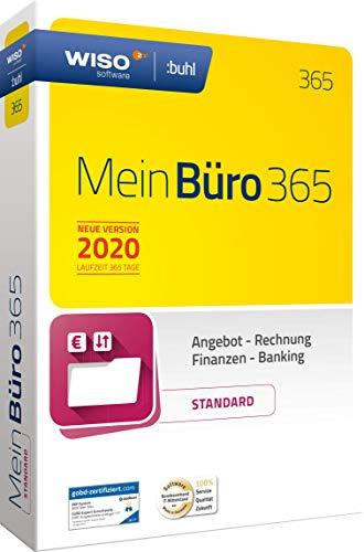 WISO MeinBüro 365 (2020) Standard | Bürosoftware, Rechnung schreiben, Buchhaltung u.v.m.