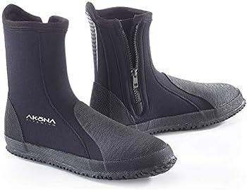 AKONA 3 mm Tall Neoprene Boot with Protective Toe and Heel Cap - 11