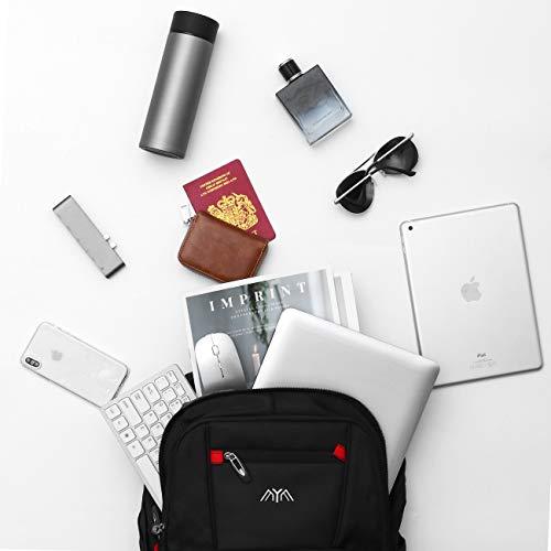 Rucksack Herren Schulrucksack Jungen Teenager für 15,6 & 17,3 Zoll Laptop Rucksack Arbeit Wasserdicht Business Daypacks Großer mit USB
