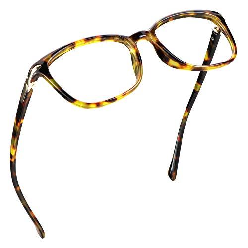 LifeArt Blaulicht-Schutzbrillen, Computer-Lesebrillen, Spielbrillen, TV-Brillen für Frauen, Männer, Blendschutz (Braunes Schildpatt, 2.75 Vergrößerung)