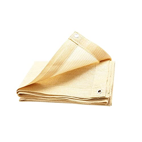 CXF Red de Sombreado de Protección Solar, Hogar pérgola sombrilla Parasol del Techo, de Color Beige HDPE Rectangular Transpirable de Tela, Ojal, el 75% de protección Solar y UV (Size : 2x3m)