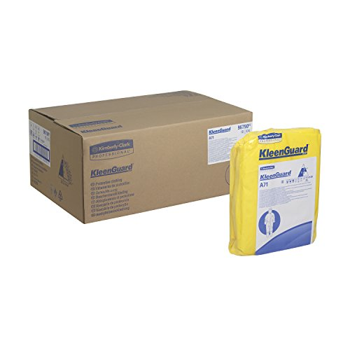 KLEENGUARD* A71 Chemikalienschutzanzug – mit Kapuze/Gelb/XXL 96790