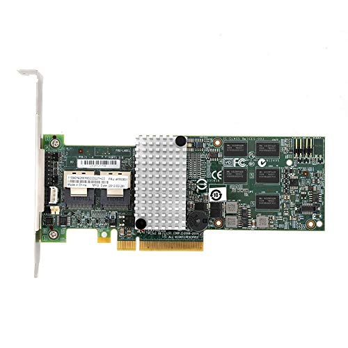 Lazmin RAID-Controller für Smart-Array-Karten, IBM M5015 Megaraid 9260-8i SATA/SAS-Controller RAID 6G PCIe x8 für LSI 46M0851