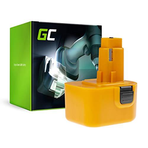 GC® (2Ah 12V Ni-MH) A9252 A9275 DC9071 DE9037 DE9071 DE9072 DE9074 DE9075 DE9501 DW9071 DW9072 EZWA49 PS130 PS130A Batería para DeWalt DC740KA DW927 DC756 DC740 Black&Decker CD12C