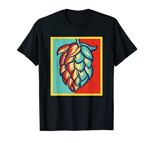 Retro Hoppy IPA Machine à bière T-Shirt
