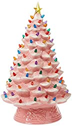 Mr. Christmas pink ceramic tree 18-inch