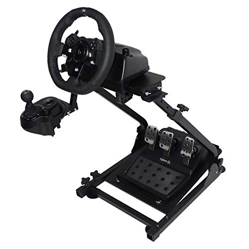Mophorn G920 Racing Steering Wheel Stand for Logitech G27/G25, G29 and G920 Racing Steering Wheel Stand Wheel and Pedals Not Included