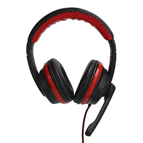 Auriculares para juegos, auriculares para computadora con cable de 3,5 mm, accesorios...
