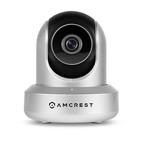 Amcrest 720P Wireless IP Camera WiFi Security Surveillance Camera System, HDSeries Indoor Camera for Baby Pet Nanny Monitor, Plug/Play, Pan/Tilt, Two-Way Audio & Night Vision IPM-721S (Silver)