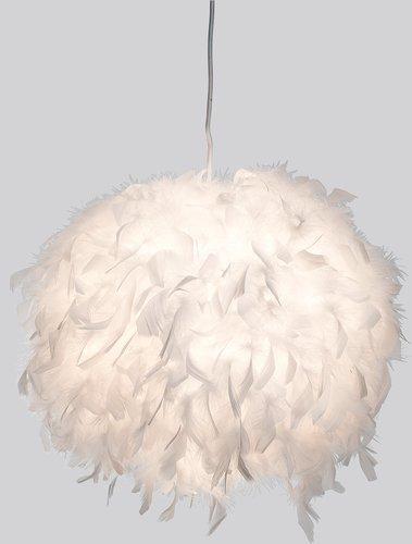 Led Pendellampe Ducky mit Federn Ø 40 cm, Pendelleuchte, Lampe, Leuchte, Deckenlampe inkl. 1x 8 Watt Led !