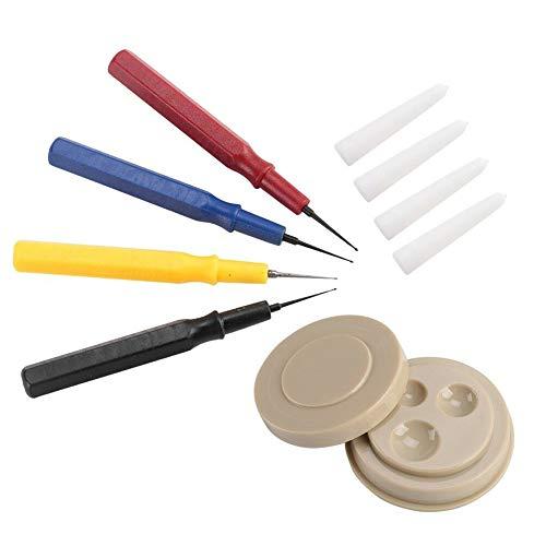 UIYU Kleines Uhrenöler Set, professionelles Uhren-DIY-Reparaturwerkzeug mit Ölbecher-Nadel für Uhrmacher, verschiedene Größen für alle Uhren und Taschenuhren