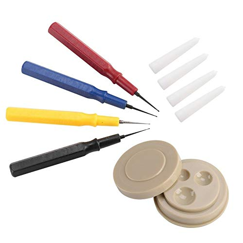 UIYU Kleine Uhrenöl-Set, professionelle Uhren-Reparatur-Werkzeug mit Ölbecher-Nadel, für Uhrmacher – verschiedene Größen für alle Uhren und Taschenuhren