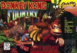 Donkey Kong Country SNES Supernintendo
