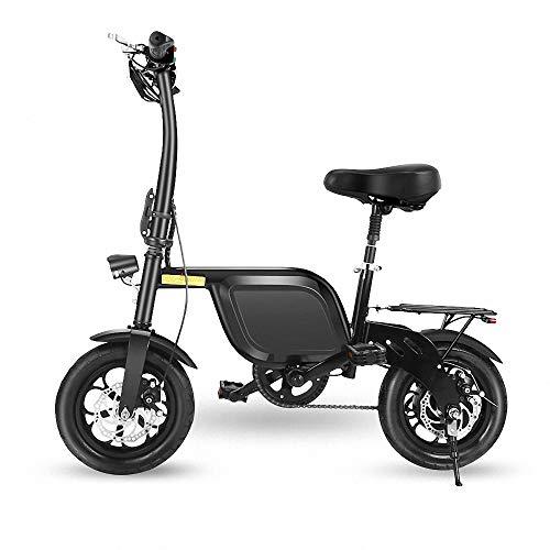 CBA BING Elektrische fiets, krachtig, borstelloze motor, 250 W, tot 50 km, lithium-ion-accu, hoge capaciteit, draagbaar en gemakkelijk op te bergen in caravan, camper