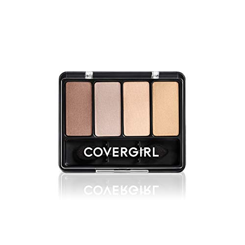 COVERGIRL - Eye Enhancers 4 Kit Shadow Sheerly Nudes - 0.19 oz. (5.5 g)
