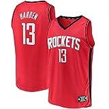 MLSON James For Kids #13 Houston Away Baloncesto Uniformes Deportes Jersey...