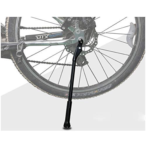 'VORCOOL Bicicletta Kickstand lega di alluminio bicicletta regolabile lato posteriore Non-Slip Bike Kick Stand per 26' -29MTB/Bici da strada/BMX/MTB (Nero)