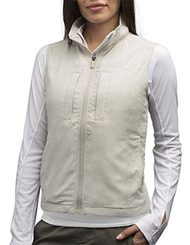 SCOTTeVEST Women's Featherweight Travel Vest   16 Pockets   Anti-Pickpocket