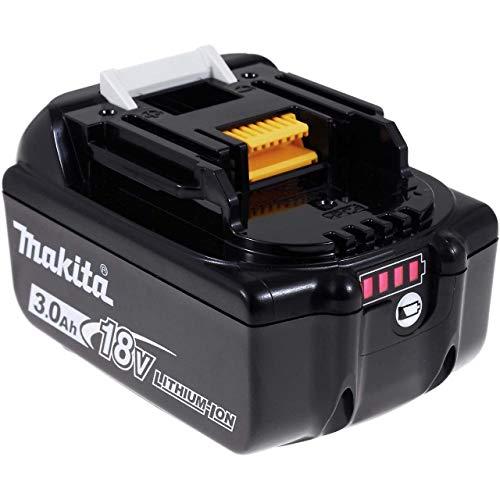 Makita Akku für Werkzeug Typ BL1830 (ersetzt BL1815N) 3000mAh mit LED Original, 18V, Li-Ion