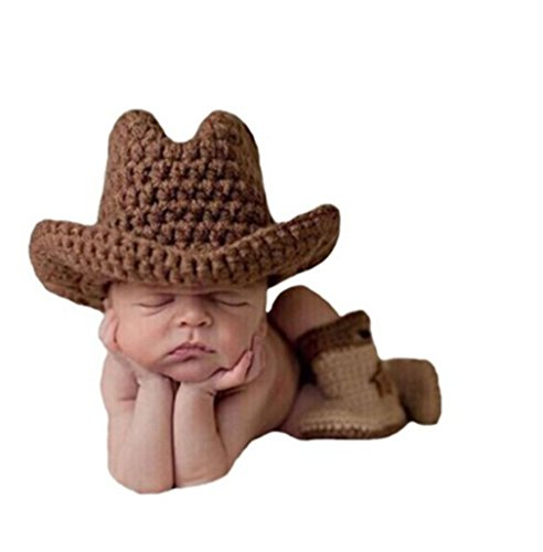 Easy Crochet Pattern for Child Cowboy Boots