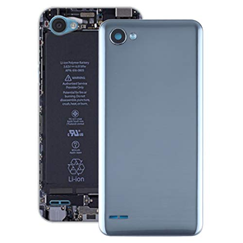 LINSHAOHUI Tapa trasera de batería para LG Q6 / LG-M700 / M700 / M700A / US700 / M700H / M703 / M700Y (color: gris)