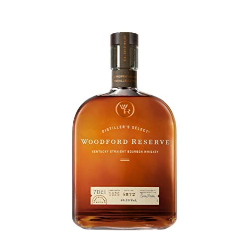 Woodford Reserve Distiller\'s Select Kentucky Straight Bourbon Whiskey - 43,2{7bf62f8405a21b0bc2cf4cbf366f35bd74d4521c48c40c1e6241009bd7a54330} Vol. (1 x 0.7 l)