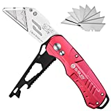 Utility Knives, Bibury Multifunctional Utility Knife, 3rd Generation Design Carpet Cutter with Extra