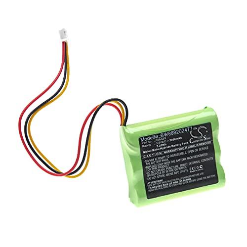 vhbw Batería Recargable Compatible con Toniebox Tonie Box Altavoces, Cajas acústicas, bafles (2000 mAh, 3,6 V, NiMH)