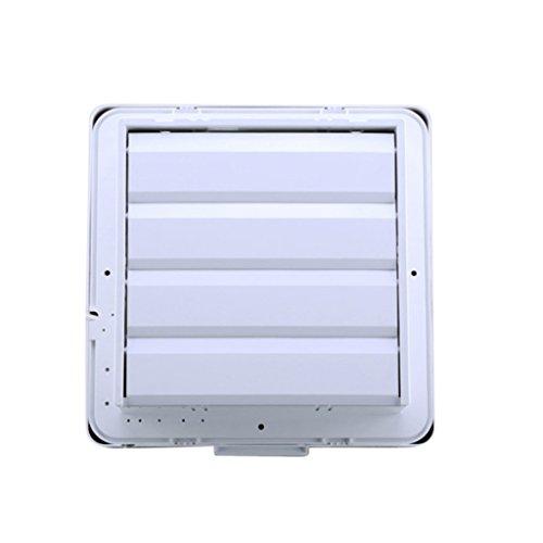 Sharplace väggfläkt väggfläkt fläkt fläkt för väggtak montering, 15 cm – 30 cm – 15 cm