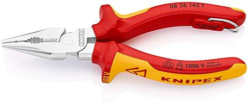 KNIPEX Alicate universal en punta aislado 1000V (145 mm) 08 26 145 T